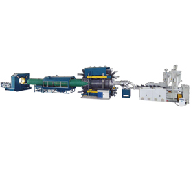 Plastic bellows machinery